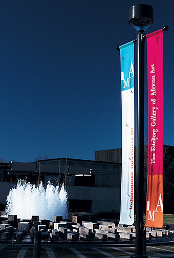 Indianapolis Museum of Art banners