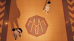 The Merchandise Mart inlay floor