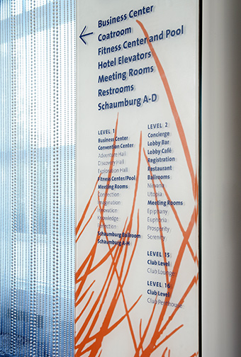 Renaissance Schaumburg Hotel and Convention Center directory detail