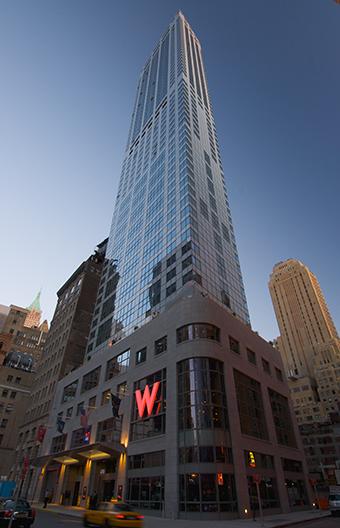 W New York Downtown Hotel Residences