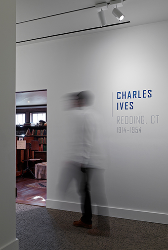 Charles Ives Exhibition Entrance